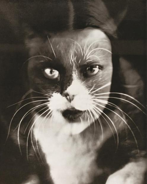 Wanda Wulz, Io e gatto, 1932